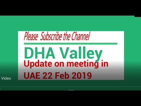 DHA Valley UAE Members meeting on 22 Feb 2019