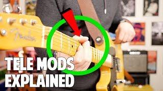 My Fender '52 Reissue Telecaster Mods Explained
