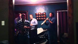 Garden State Sax Quartet Sweet Child Guitar Solo