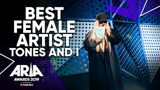 Download lagu Tones and I Wins Best Female | 2019 ARIA Awards