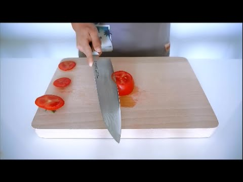 Miyabi 7000d  Tomate test , one of the best knife in the world !