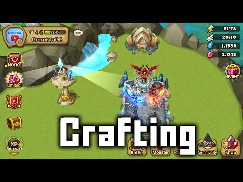 Summoners War: Crafting Surveillance Tower & Command Post