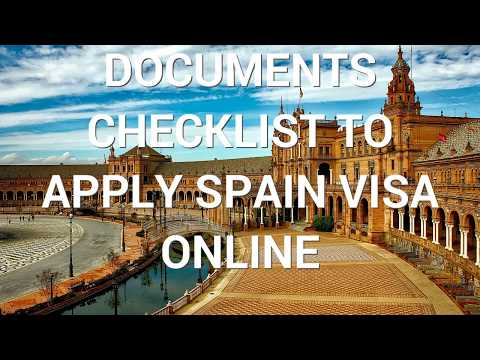 How to Apply Spain Visa Online | Documents Checklist for Spain Visa | Schengen Visa Requirements