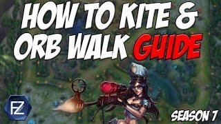 How to Kite & Orb Walk in League of Legends Season 7