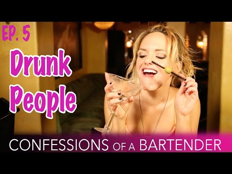 Ep 5. Confessions of a Bartender  Drunk People
