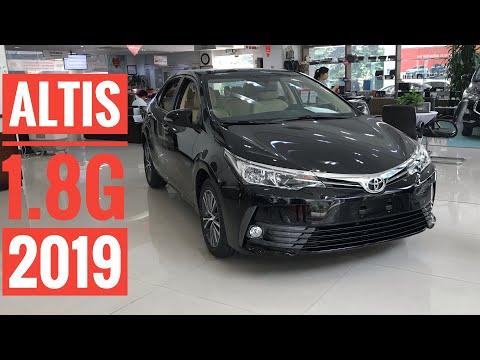 Đánh giá nhanh Toyota Altis 1.8G 2019. Hỗ trợ 100% chi phí đi đăng kí xe
