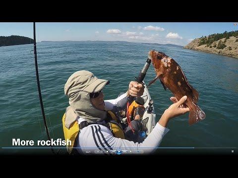 Bottom fishing from Hobie Revolution 13 kayak