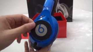 Best In Ear Beats By Dr Dre Excutive  Big  Black/Blue DJ Headphones