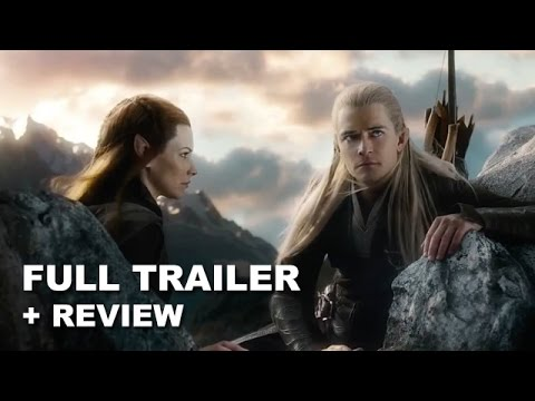 The Hobbit The Battle of the Five Armies Official Teaser Trailer + Review - Beyond The Trailer