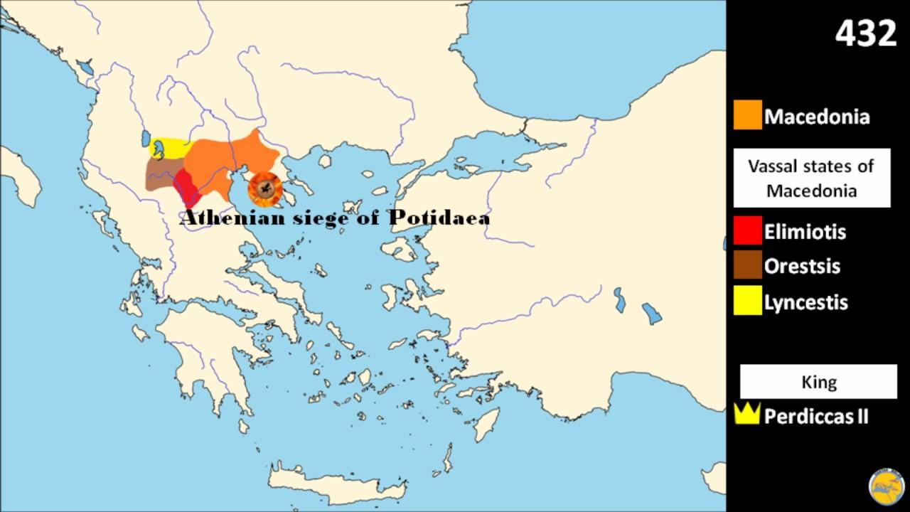 History Of Macedonia The Rise Of Macedonia Youtube