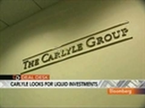 Carlyle May Buy Hedge Fund Stake, Push for Liquid Assets: Video