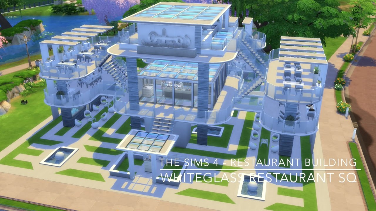 The sims restaurant building whiteglass
