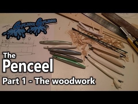 The Penceel - Line thorugh pencil lure. Part 1