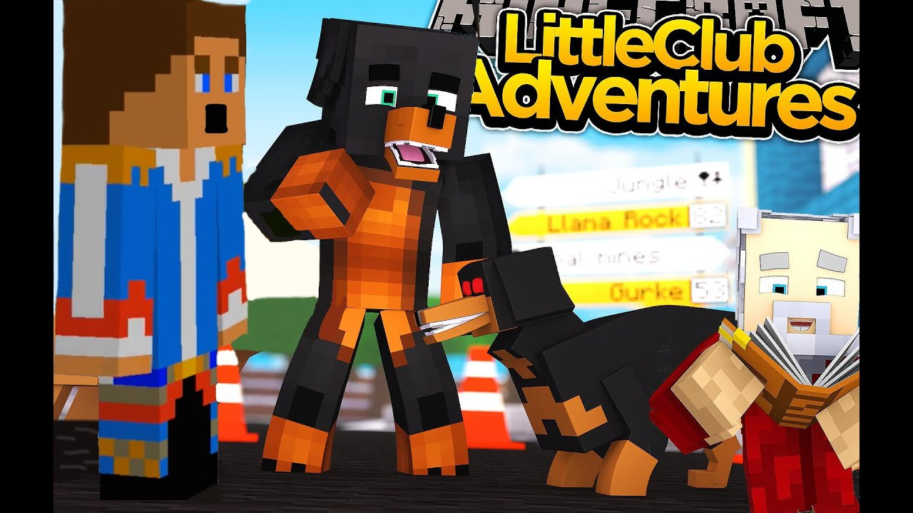Minecraft little club adventures donut gets attacked - The little club ...
