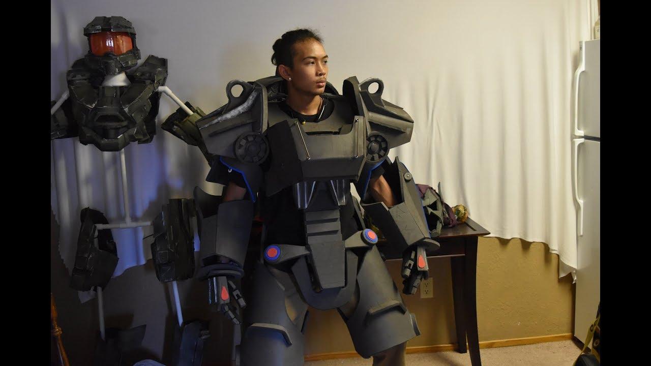 Foam Fallout 4 T60 Power Armor Project Pt1 Youtube