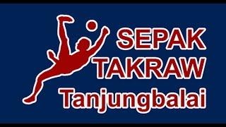 Belajar Sepak Takraw - Sepak Kura - Tanjungbalai Sumatera Utara Indonesia