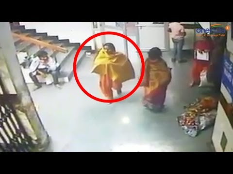 Delhi woman steals child from Deen Dayal Hospital, Watch CCTV footage | Oneindia News