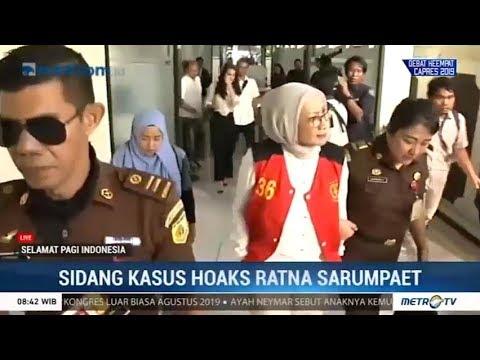 Jaksa Hadirkan 6 Saksi di Kasus Ratna Sarumpaet