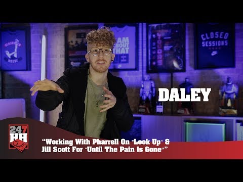"Daley - Working With Pharrell On ""Look Up"" & Jill Scott For ""Until The Pain Is Gone""(247HHExclusive)"