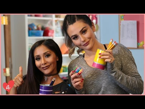 Snooki VS JWOWW: Are You Smarter Than a First Grader? |  #MomsWithAttitude Moment