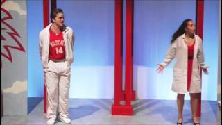Carver Duncan as Troy Bolton in High School Musical