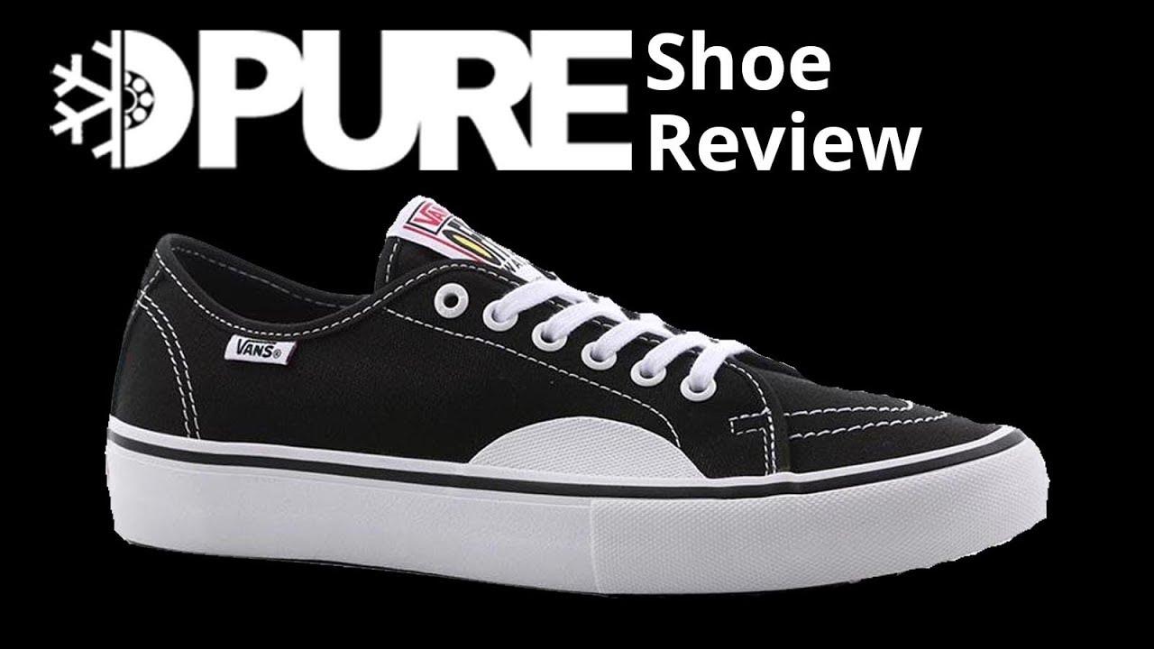 21e6945f8ae Vans AV Classic Pro Skate Shoe Review - PureBoardShop.com - YouTube