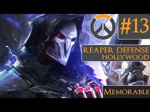OVERWATCH - Season 1 High Elo Reaper Defense