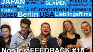 Filme, Japan, MW, USA. Weed, Less English? - NosTeraFEEDBACK #15