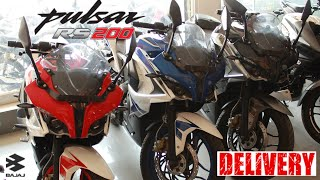 Taking Delivery of Pulsar RS200 | Beast Arrives