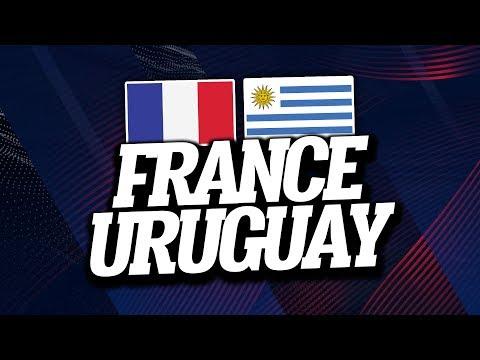 🔴 [ LIVE ] FRANCE - URUGUAY // Club House