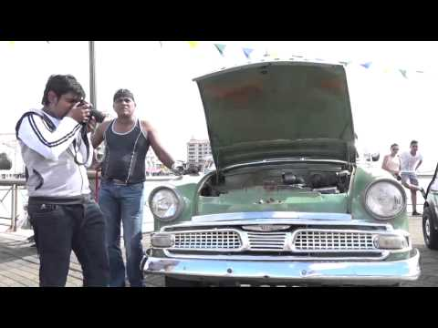 Exposition de Vintage Car au Port Louis Waterfront