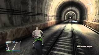 GTA V Dump Truck vs Train
