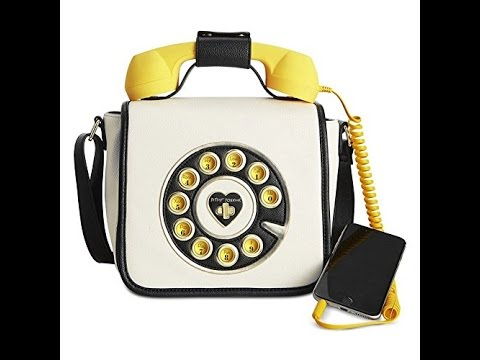 Betsey Johnson Better Call Me Baby Phone Cross Body Bag