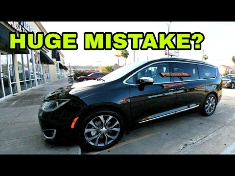 HUGE MISTAKE? Wife's new Chrysler Pacifica Limited!