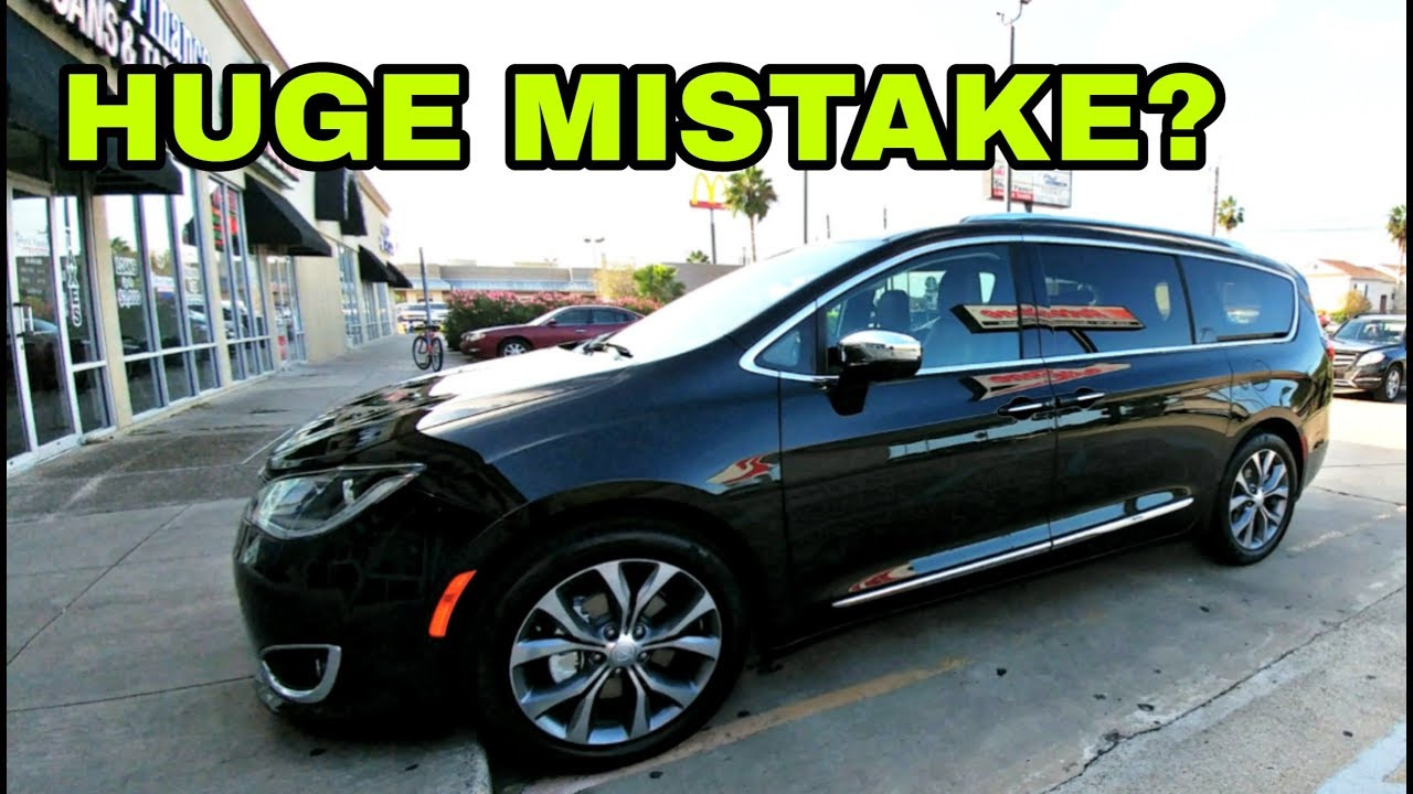 huge-mistake-wife-s-new-chrysler-pacifica-limited