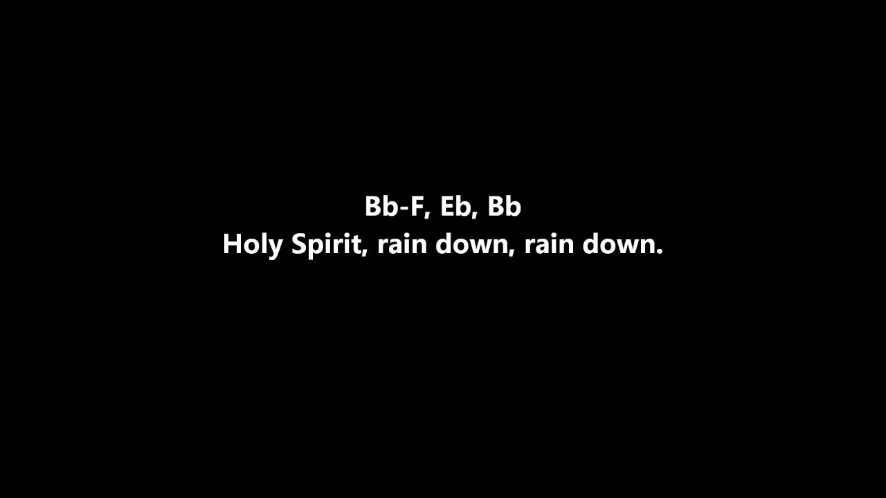 Delirious - Rain Down - (with lyrics) - YouTube