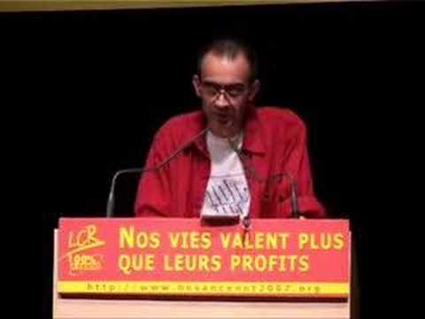 Olivier Besancenot et les Reynolds à la Mutualité
