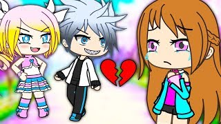 My Gold Digger Boyfriend Left Me For A Rich Girl...(Gacha Life Story)