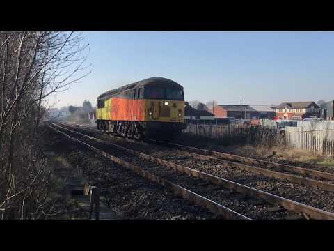 Trowell Jnc, Toton Jnc & Meadow Lane crossing 15/2/19