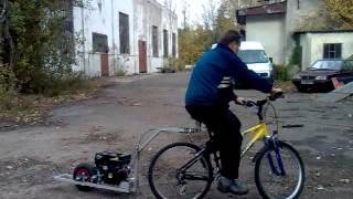Mike S 196cc Push Trailer Demo