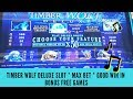 TIMBER WOLF DELUXE SLOT * MAX BET * GOOD WIN IN BONUS FREE GAMES - SunFlower Slots