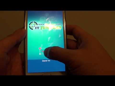 Samsung Galaxy S5: How to Put Your Name on the Home Screen