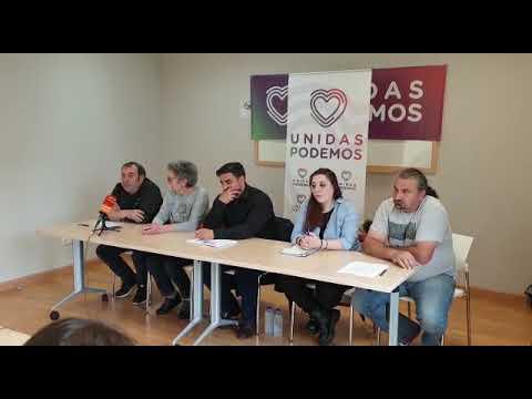Presentación de la candidatura de Unidas Podemos/Esquerda Unida