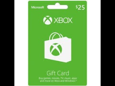 FREE $25 XBOX GIFTCARD GIVEAWAY