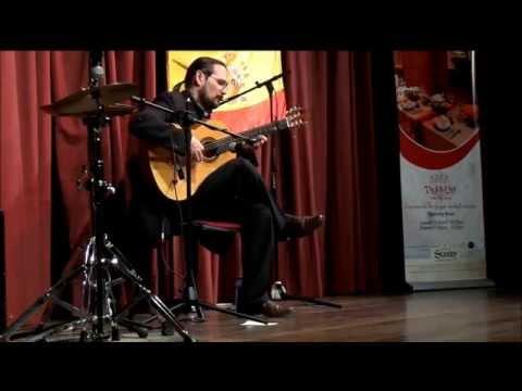 Ricardo Garcia Flamenco Oct 2014 at The Louis Leakey Auditorium in Nairobi