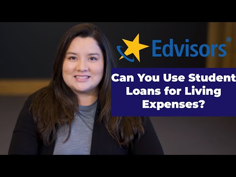 Can You Use Student Loans for Living Expenses?