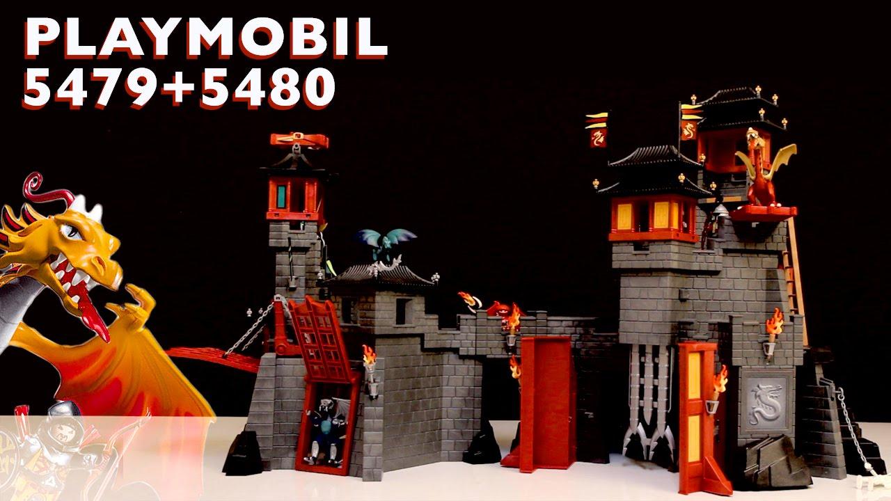 5480 Playmobil Playmobil 5480 Dragon S Secret Fortress