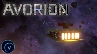 """Avorion #1 """"Постройка корабля"""""""