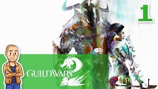 Guild Wars 2 Norn Gameplay Part 1 - New Character - GW2 Let's Play Series