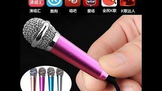 Hướng dẫn karaoke trên điện thoại smartphone bằng micro karaoke mini